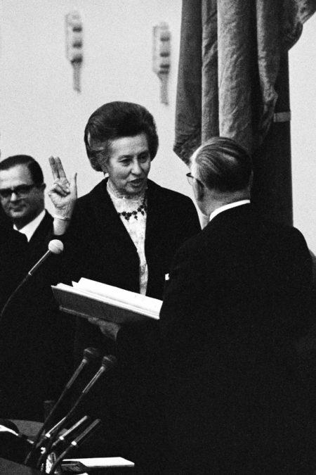 1961 Elisabeth Schwarzhaupt – Die erste Bundesministerin